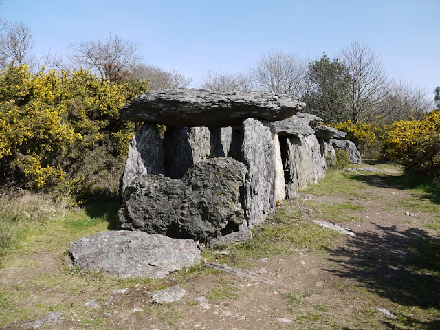 Allée couverte de Tréal, landes de cojoux, site mégalithique de Saint-Juts