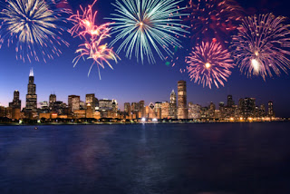 fireworks Chicago