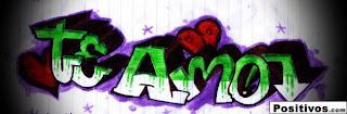 imagenes de graffitis de amor