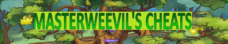 masterweevil's cheats