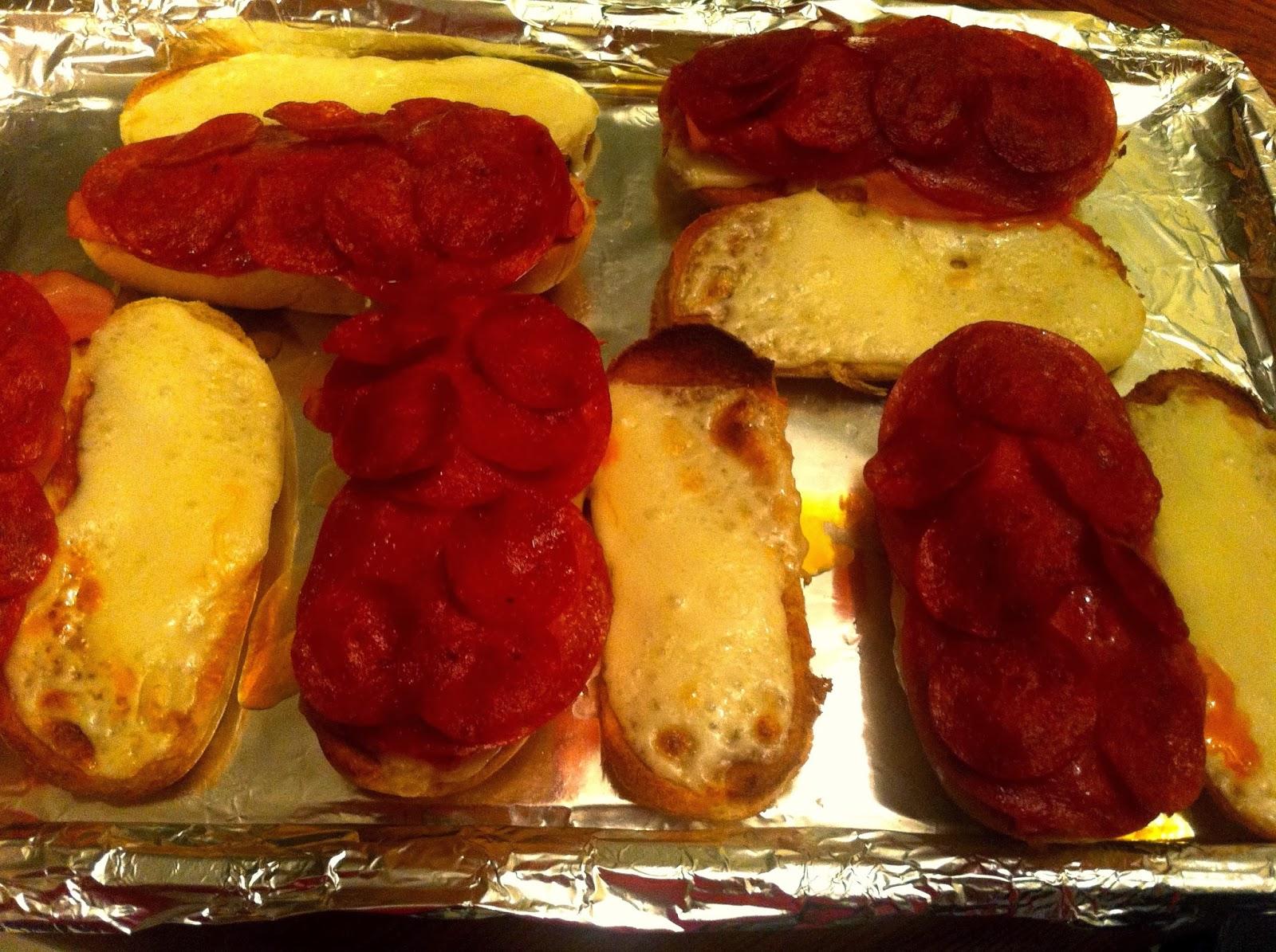 how to make pepperoni subs