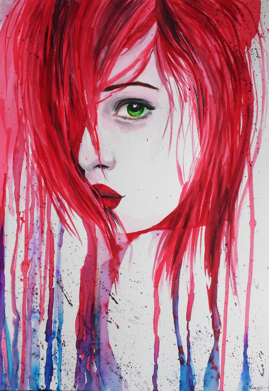 02-Andrea-Wéber-aka-Mandy-Candy-Paintings-A-Mirror-to-the-Artist-s-Emotions-www-designstack-co