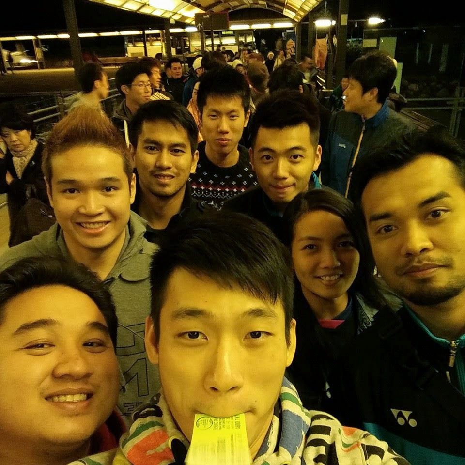 Selfie of Malaysia Badminton Team Badminton Zone