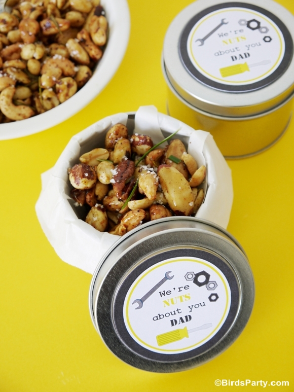 Party Food: Spicy Chipotle & Rosemary Nuts Recipe
