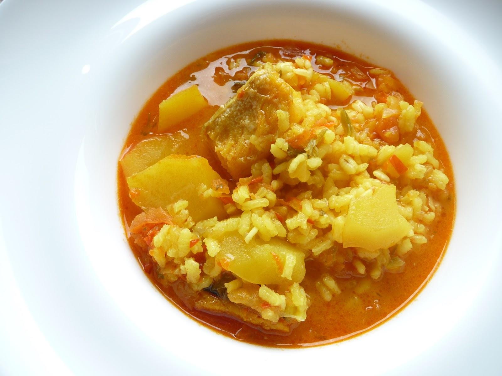 Bercianita chef arroz con bacalao - Arroz blanco con bacalao ...