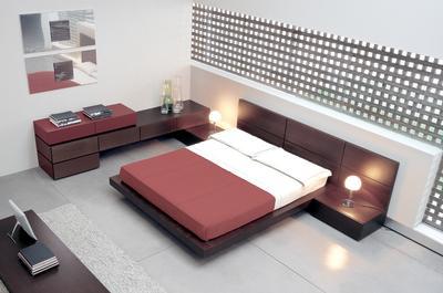 Foundation Dezin Decor Low Height Comfort Bed