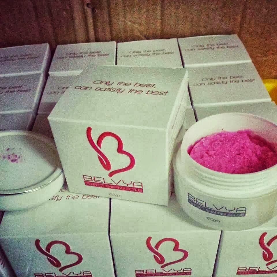 BELVYA PERFECT SHAPING SCRUB