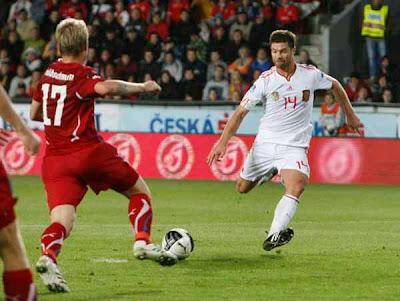 Czech Republic 0 - 2 Spain (2)