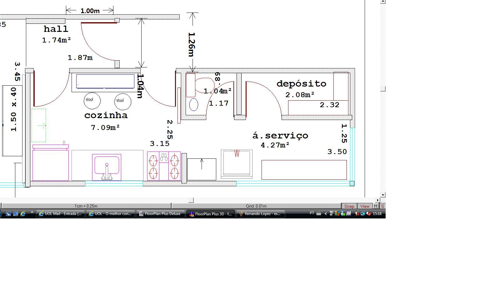 arquitetura & decor: um projeto de reforma plantas e algúns detalhes #456176 1536 960
