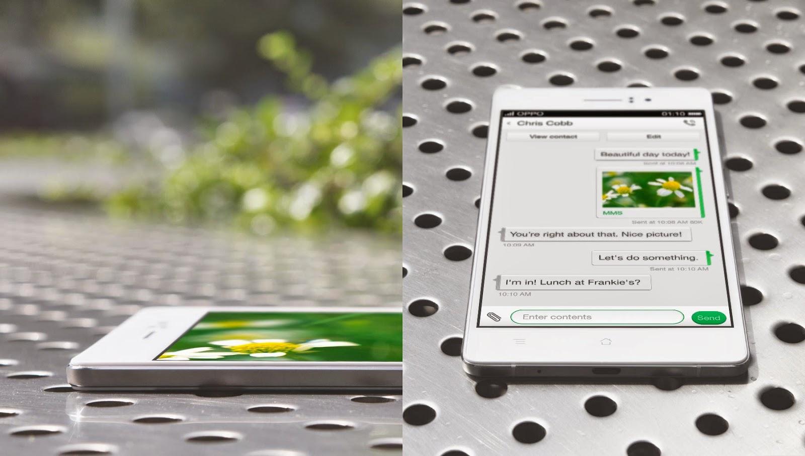 Hp Android Terbaru dengan desain mewah Oppo R5 Terbaru