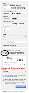Membuat akun email google Gratis