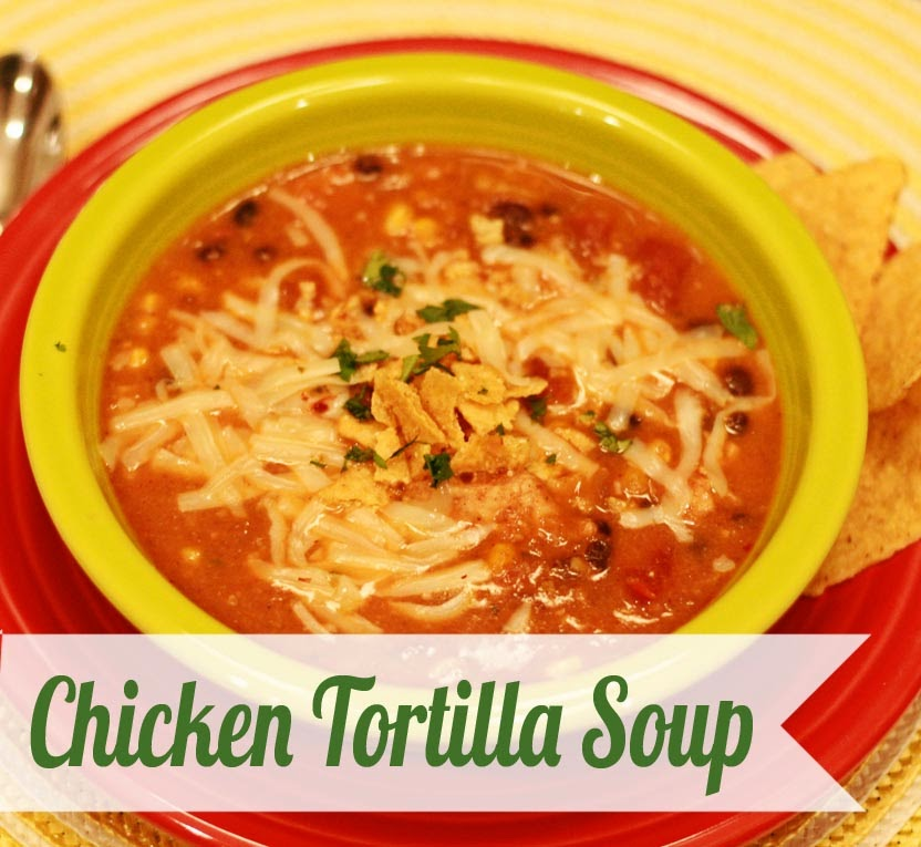 PaperDaisyKitchen: Chicken Tortilla Soup