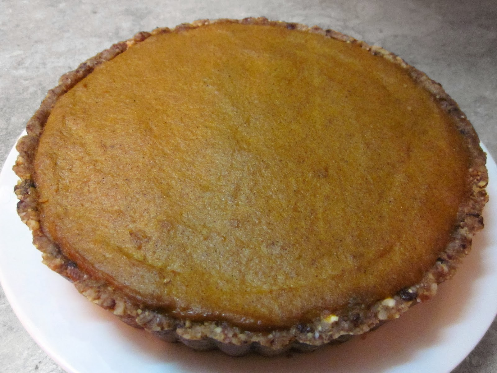 No Bake Gluten Free Pumpkin Pie #Recipe #glutenfree - Rural Mom