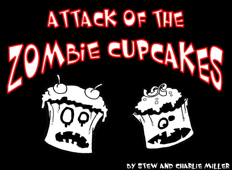 Attack of the Zombie Cupcakes