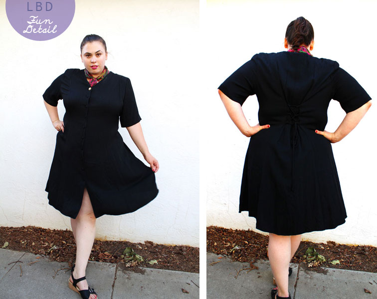 The Curvy Elle:Little Black Dress (Plus Size) - The Curvy Elle