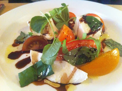 Stitch and Bear - San Lorenzos - Buffalo mozzarella and tomato salad