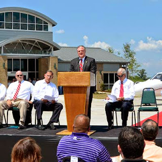 Conway Opens New Airport with Dedication Ceremony