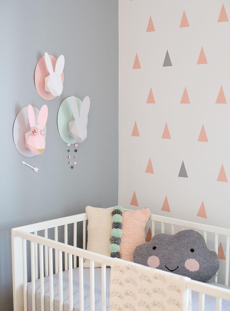 repinned from httpblogchloefleurycom baby nursery girl nursery ideas modern