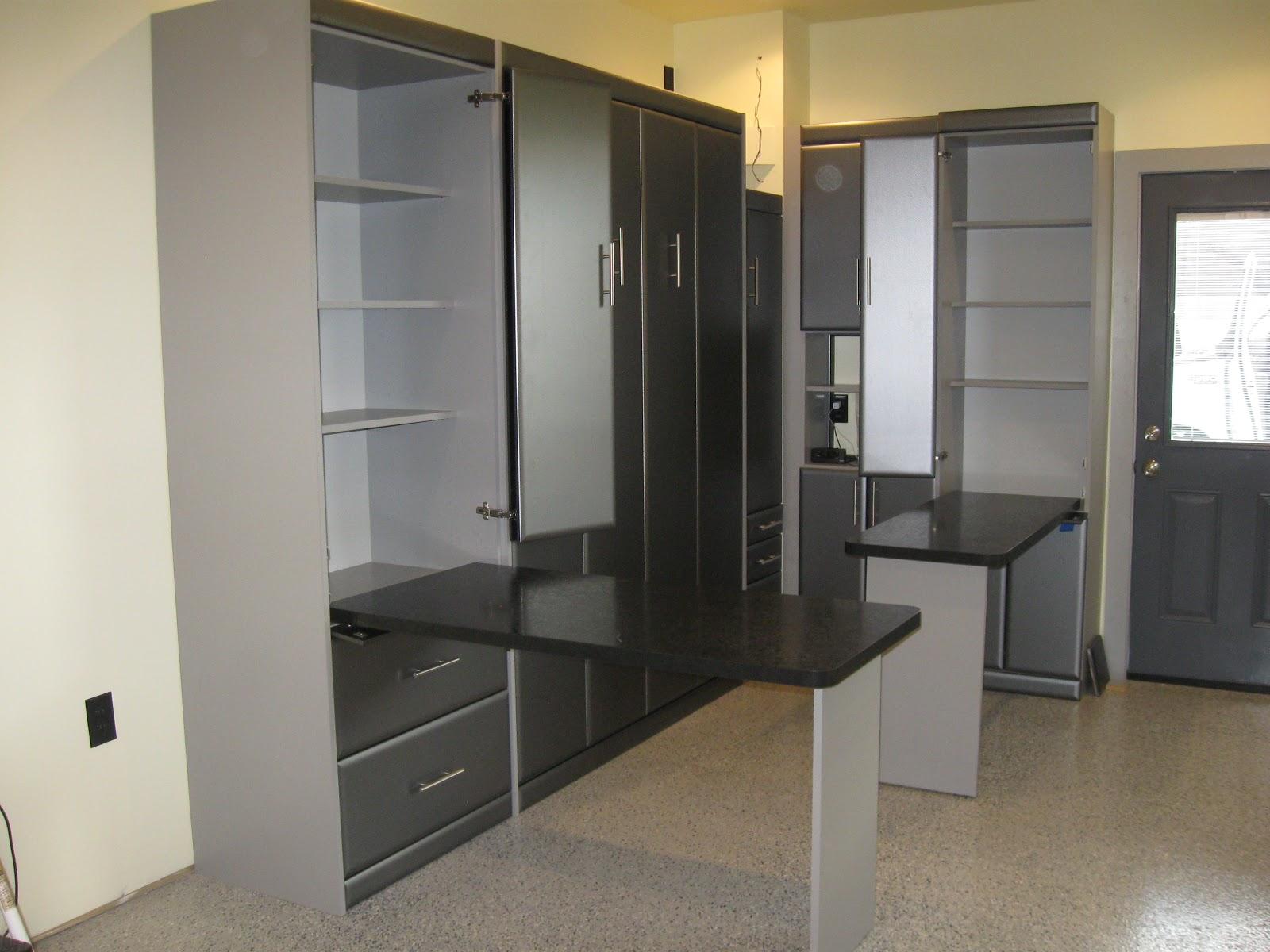 California Closets Murphy Beds Full Modern Custom Closet