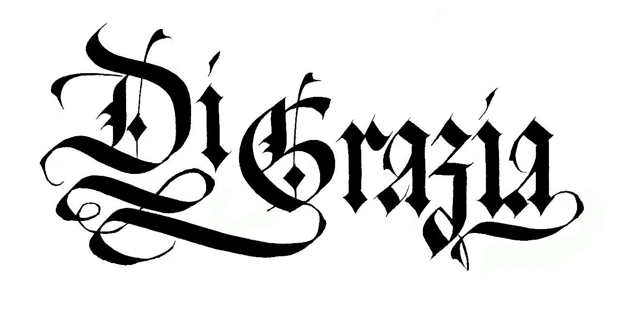 calligraphy by loredana zega   logos