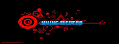 Couverture facebook Living electro