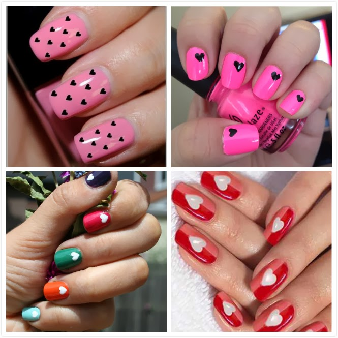 Awesome Nail Art Valentines Day Design: