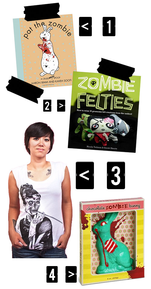 Cool Zombie Inspired Merchandise