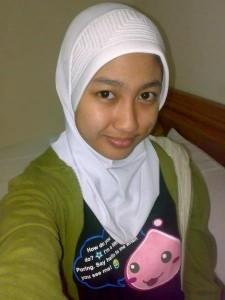 Cewek Jilbab Narsis Telanjang Memek