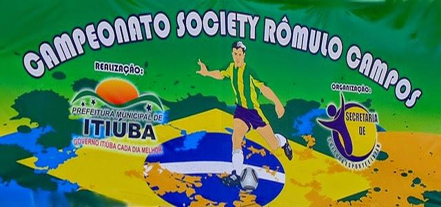 CAMPEONATO SOCIETY RÔMULO CAMPOS EM 24.05.2014.