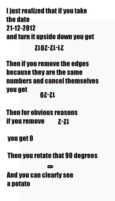 The Real Truths About 12-21-2012