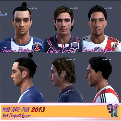 Last Facepack PES 2013 by ger