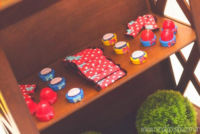 chocolates personalizados festa circo