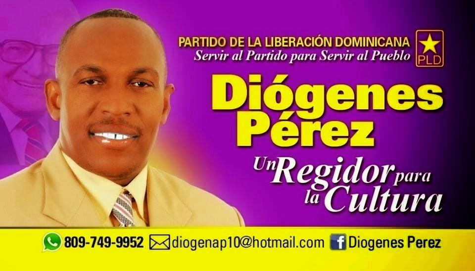 Diógenes Pérez, regidor!