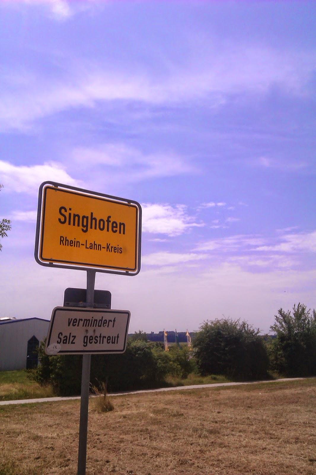 Rhein-Lahn-Kreis Sign Schild