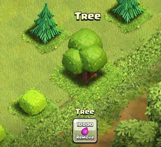 kumpulan mendapatkan gems dengan menebang pohon
