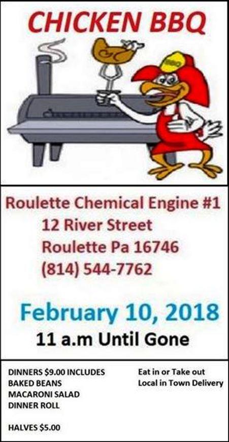 2-10 Chicken BBQ, Roulette VFD