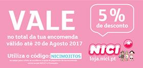 5% DESCONTO NICI