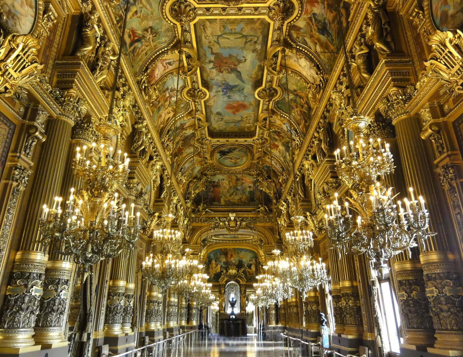 Le Grand Foyer Opera Garnier : Opéra garnier paris historic walks