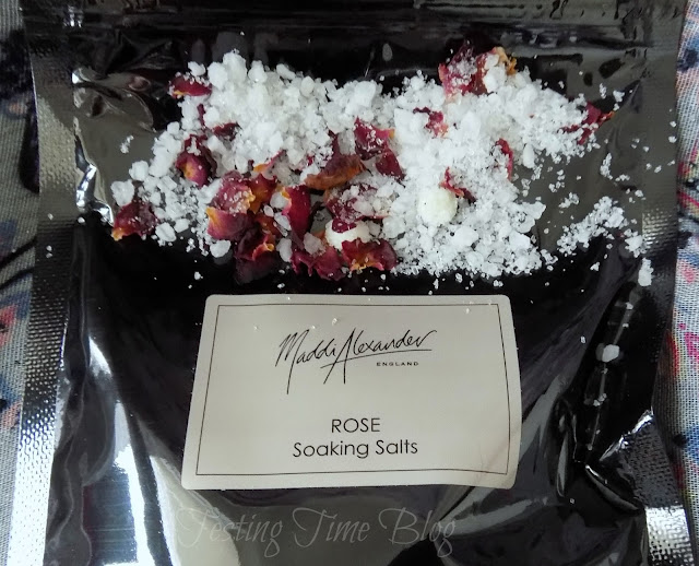 Maddi Alexander Rose Soaking Salts