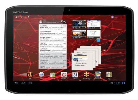 Android-Tablet Motorola Xoom 2 Android 4.0.4 Update