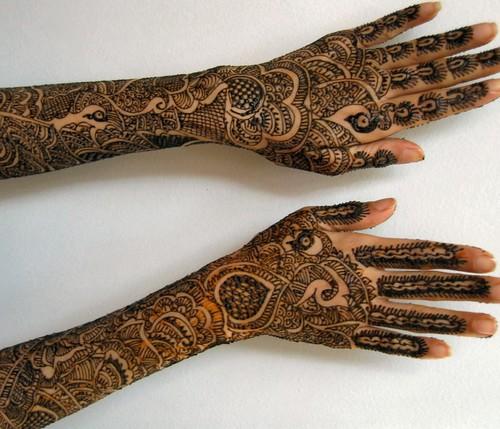 Mehndi For Full Hand : Full hand mehndi desings