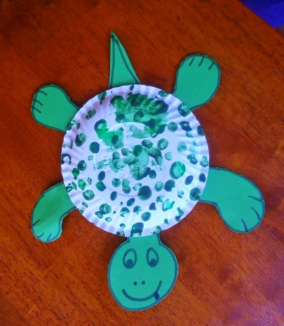 Life 39 s little treasures t for tortoise for Turtle arts and crafts