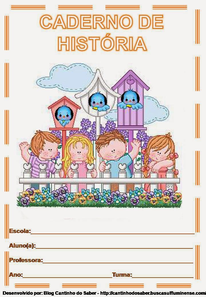 Educar X: Capas coloridas para caderno