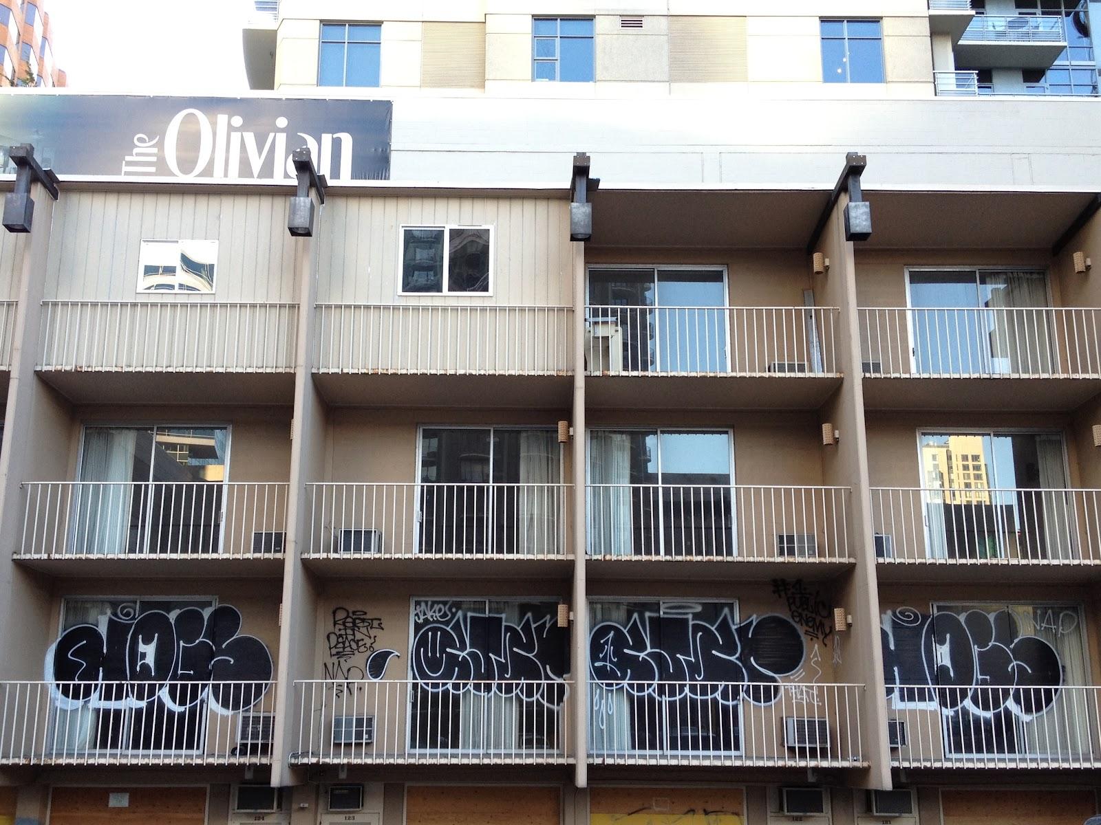 HOT DOG DAYZ Olivian Apartments Graffiti Seattle WA