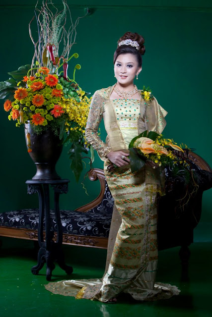 myanmar traditional dress wutt hmone shwe yi
