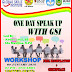 One Day Speak Up With GSI
