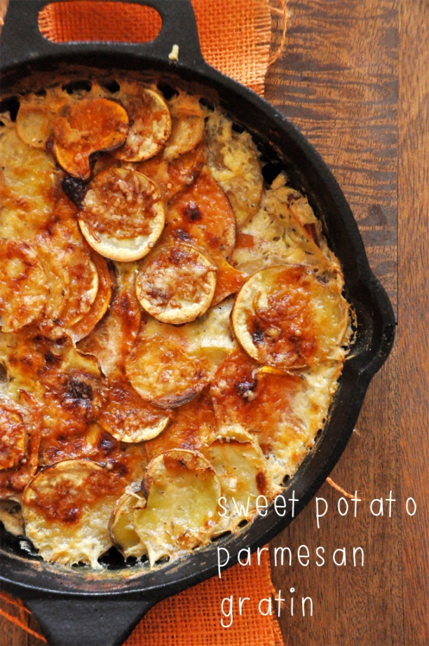 The Bestest Recipes Online: Sweet Potato Parmesan Gratin