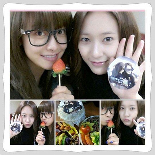 Victoria & Krystal Fan Gift