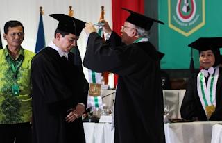 Yuddy Krisnandi Jadi Guru Besar UNAS
