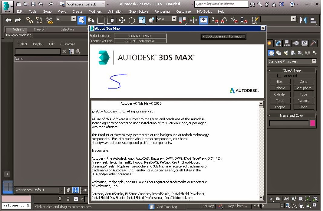 autodesk 3ds max 2012 serial number + keygen by core